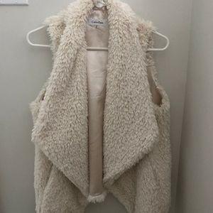 Calvin Klein Fur Vest